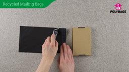 How to use Recycled Mailing Bags