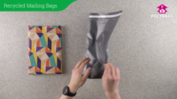 How to use 100% Recycled Grey Mailing Bags in Handypacks