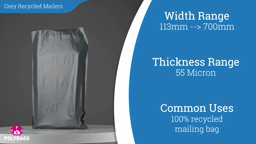 Watch a short video on 100% Recycled Mailing Bags