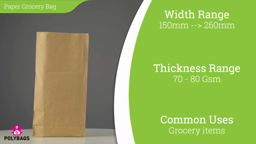 Watch a short video on American Grocery Bags