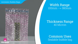 Watch a short video about our Antistatic Bubble Bags