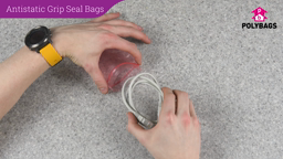 How to use Antistatic Grip Seal Bags