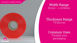 Watch a short video about our Pink Antistatic Layflat Tubing (LFT)