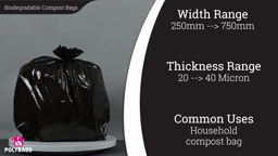 Watch a short video about our Standard Biodegradable Bin Liners & Refuse Sacks