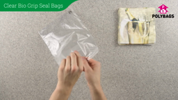 How to use biodegradable grip seal bags.