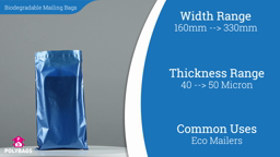 Watch a short video about our Biodegradable Mailing Bags
