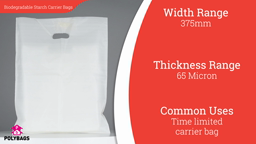 Watch a short video about our Biodegradable Starch-Based Carrier Bags