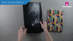 How to use black security mail sacks