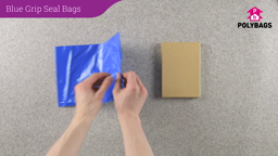 How to use Blue Grip Seal Bags
