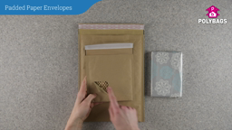 How to use Brown Padded Paper Mailers