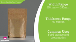 Watch a short video about our Polykraft Window Stand-Up Food Pouches