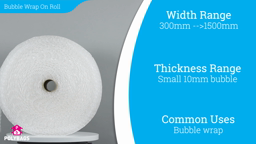 Watch a short video about our Standard Bubble Rolls