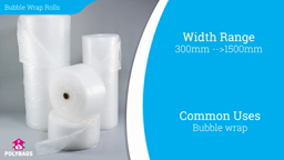 Watch a short video about our Bubble Wrap Rolls