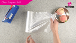 How to use Clear Bags On A Roll