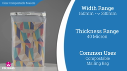 Watch a short video on Clear Compostable Mailing Bags