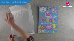 How to use Clear Compostable Mailing Bags