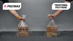 See the strength of Clear Polymax Sacks
