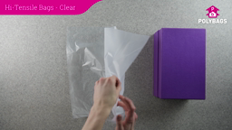 How to use clear high tensile