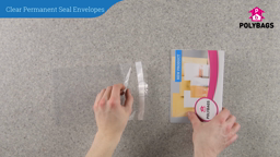 How to use Clear Permanent Seal Envelopes
