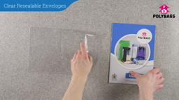 How to use Clear Resealable Envelopes