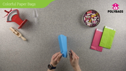 How to use Colourful Paper Bags