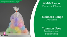 Watch a short video on Compostable Bags