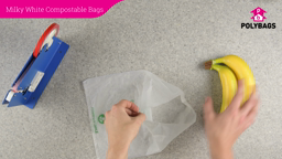 How to use compostable packing bags.