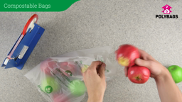 How to use compostable bags.