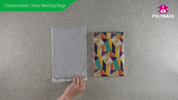 How to use Compostable Clear Mailing Bags