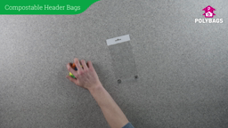 How to use Compostable Display Bags with Header