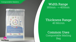 Watch a short video on Compostable Mailing Bags