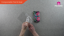 How to use compostable peel and seal bags