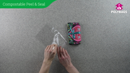 How to use Compostable Peel and Seal Display Bags
