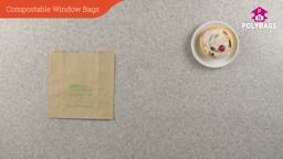How to use compostable window bags
