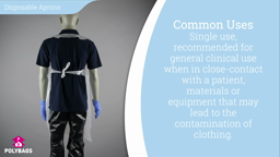 Watch a short video on Disposable Aprons