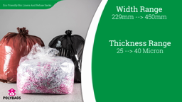 Watch a short video about our Eco-Friendly Bin Liners & Refuse Sacks