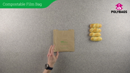 How to use eco-friendly compostable film front bags