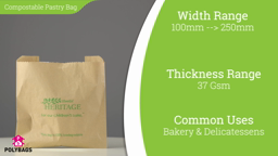Watch a short video on eco-friendly compostable window bags
