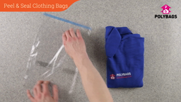 How to use Peel & Seal Clothing Bags