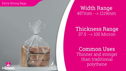 Watch a short video about our Polymax Extra Strong Bags
