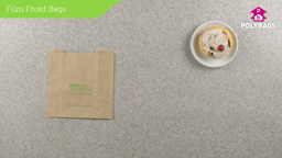 How to use Film Front Food Bags