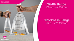 Watch a short video about our Watertight Fish Bags