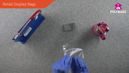 How to use freestanding retail display bags