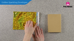 How to use Golden Sparkling Envelopes