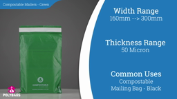Watch a short video on Green Compostable Mailing Bags