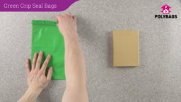How to use Green Grip Seal Bags