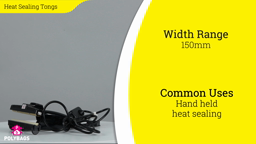 Watch a short video about our Heat Sealing Tongs