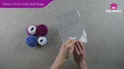 How to use Heavy Duty Grip Seal Bags