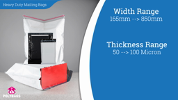 Watch a short video about our Heavy Duty Mailing Sacks