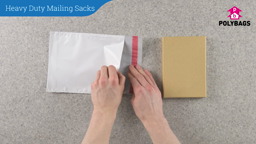 How to use Heavy Duty Mailing Sacks